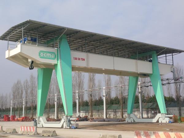 Gantry cranes installations