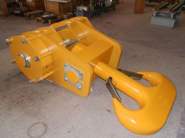 Bozzello gancio (portata 200 ton)