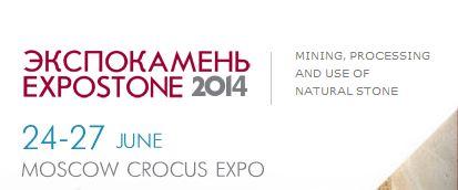 EXPOSTONE MOSCA 2014